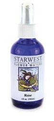 Starwest Botanicals Flower Waters Rose -- 4 fl oz - 1