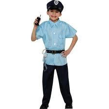Policeman Child's Costume Small
