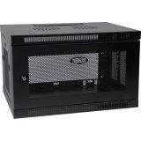 Tripp Lite SRW6U 6U Wall Mount Rack Enclosure Server Cabinet Door/Sides