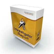 Detective Management Software - Investigator Report (Mac/Win)