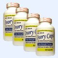 "4 Pack Ivory Caps **BEST VALUE**- Maximum Potency Glutathione 1500 ""Skin Whitening"" Complex"