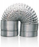 """6"""" Non-Insulated Flex Duct Ducting, 25 ft"""