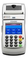 "FD400ti GPRS CREDIT CARD PROCESSING TERMINAL ""AS IS"""