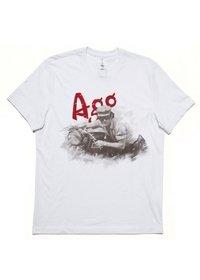 T-shirt Heritage Bianca Giacomo Agostini, Taglia: XL