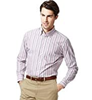 Collezione Pure Cotton Classic Collar Striped Shirt