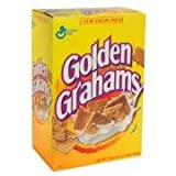 Golden Grahams Cereal, 12 Ounce Boxes (Pack of 5)