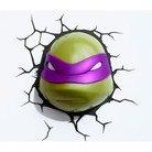 Teenage Mutant Ninja Turtles 3d Wall Art Nightlight - Donatello