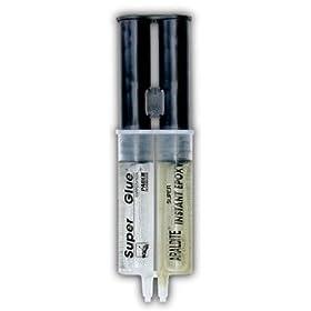 SUPER GLUE SY-IN48 Instant Set Epoxy Syringe
