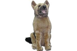 "NICK NACK Nick Nack German Shepherd 17"" Soft Stuffed Toys In Beige"