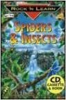 Spiders & Insects with Book(s) and Cassette(s) (Rock 'n Learn)