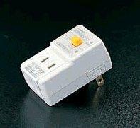 エスコ AC100V/15A漏電保護タップ EA940ME-16