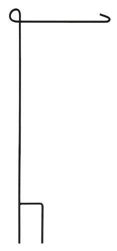 """Evergreen Flag & Garden 2421000 Garden Flag Stand, 42"""" Height x 0.5"""" Width x 18"""" Length, Black"""