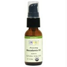 Aura Cacia Organic Skin Care Oil, Macadamia, 1-Fluid Ounce