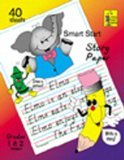 Teacher Created Resources Smart Start 1-2 Story Paper: 40 sheet tablet