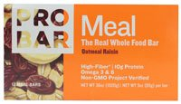 ProBar Meal Oatmeal Raisin -- 12 Bars