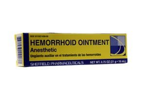 Dr. Sheffield's Hemorrhoid Anesthetic Ointment .75oz (Pack of 2)