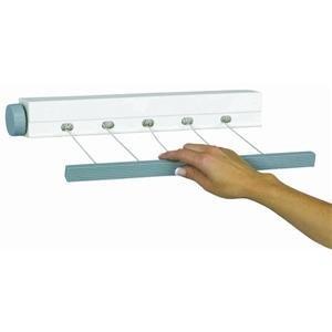 Household Essentials MD-61 Five-Line Indoor/Outdoor Mini Retractable Clothes Dryer