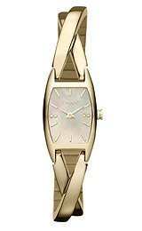 DKNY Stainless Steel Half-bangle Women's watch #NY8680