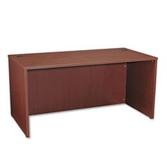 * BL Laminate Series Rectangular Desk Shell, 60w x 30w x 29h, Mahogany