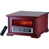 Lifesmart Compact Power Plus 800 Square Feet Infrared Heater w/Wood Cabinet Includes remote from Lifesmart