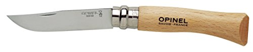 Opinel N Degree7 Stainless Steel Knife, 8 cm Blade