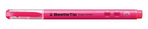 kokuyo-beetle-tip-3way-highlighter-pen-pink