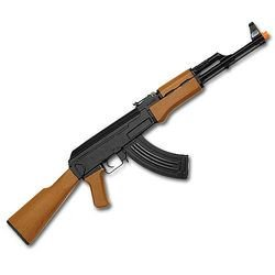 New AK47 Electric Auto Airsoft Gun Automatic Rifle w BB - CM022