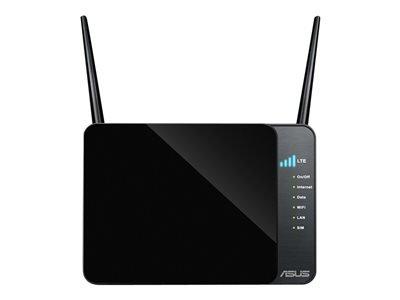 90IG01I0-BM3G00 - 4G-N12 N300 LTE 802.11 b/g/n, 300 Mbps, LTE/HSPA+/UMTS, 2dBi, 2.4 GHz, Fast Ethernet, SIM Card, 300g