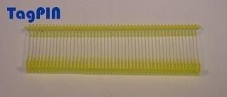 Kunststofffäden standard tagPin 10.000 fils de 25 mm (jaune)
