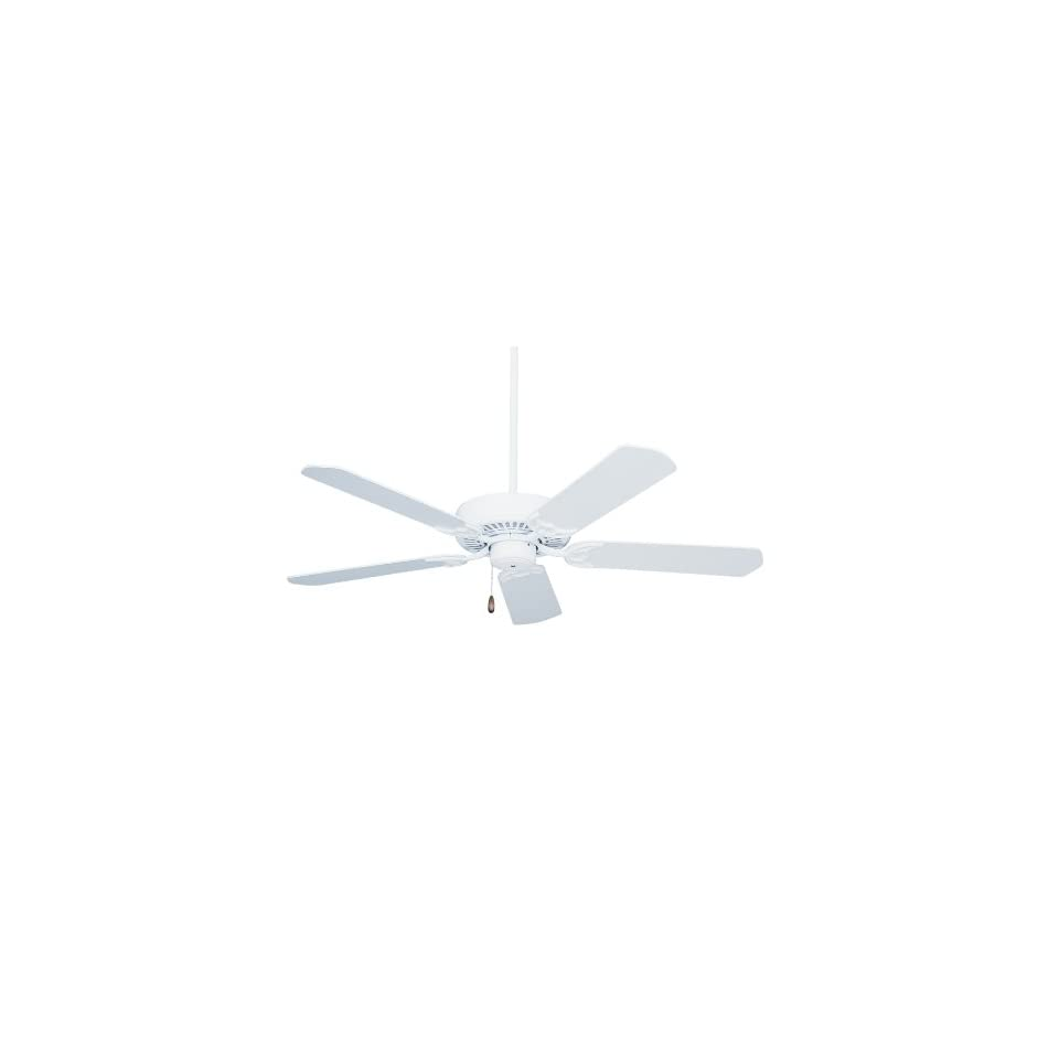 Emerson CF652WW Summer Night Indoor/Outdoor Ceiling Fan, 52 Inch Blade Span, Appliance White Finish and All Weather Appliance White Blades