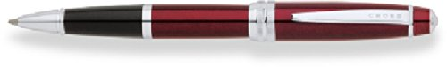 cross-bailey-lacquer-rolling-ball-pen-red