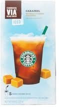 Starbucks Via Ready Brew Iced Caramel Flavored Coffee 5 Pk by STARBUCKS [Foods] (Starbucks Iced Caramel Coffee compare prices)