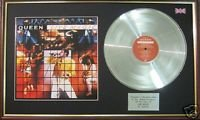 Queen-LP Platinum CD &-Live Magic Cover