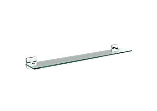 Roca A816661001 Victoria mensola per bagno, del bagno Accessori, in vetro, cromo, lucida., 600 mm