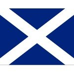 Scottish Scotland St. Andrews Flag 2 feet x 3 feet