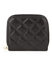 Autograph Leather Quilted Purse