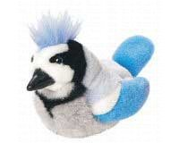 Blue Jay - Audubon Plush Bird (Authentic Bird Sound)