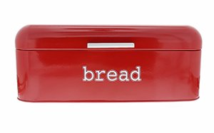 Red Vintage Bread Box