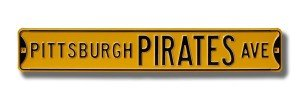 Pittsburgh Pirates Avenue Sign