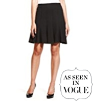 M&S Collection Panelled Skater Mini Skirt