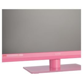22'' Inch Full HD 1080p Digital Freeview LED TV Television With Built In DVD Player - Pink