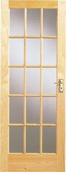 SA77 Knotty Pine Door 1981 x 762mm