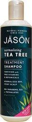 JASON Natural Cosmetics Shampoo, Tea Tree Oil Hair & Scalp Therapy - 17.5 fl oz