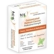 NEW Concentrated Denture Cleaner by TCS