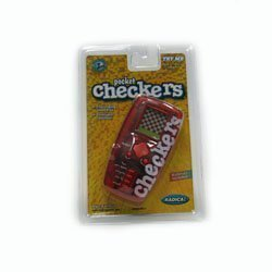 Trademark Global 10-4172010, Pocket travel electronic Checkers