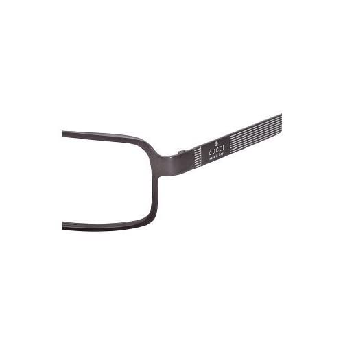Amazon.com: GUCCI 1885 GG1885 R81 SEMI MATTE RUTHENIUM PLASTIC