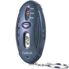 Image of Daffodil Hpc100 Digital Breathalyzer - Alcohol Breath Tester with Timer, LED Flashlight, Keychain and 3 LED Indicator (B009QBG02G)