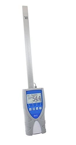 Humimeter RH5 Paper Moisture Meter with Datalogger, Measuring Range 0 to 100% (Zero Point Module compare prices)