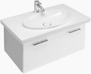 Villeroy and boch a274f2el central line vanity unit in glossy black bathroom vanities - Villeroy and boch bathroom cabinets ...