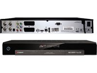 Octagon SF-1018 Digitaler Twin-Satelliten-Receiver (Linux OS,2x Conax-Kartenleser, PVR-Ready, HDMI, USB 2.0) schwarz